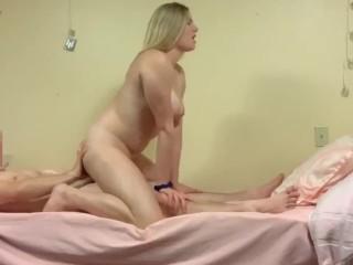 Big tit blonde fucked
