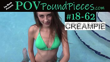 POV Hottie Creampie - Download Clip #18-62 on JayBankPresents.com