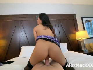 Real sex tape with very cute Elle Voneva