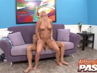 Busty Blonde Cali Cassidey Hot Sex Scene