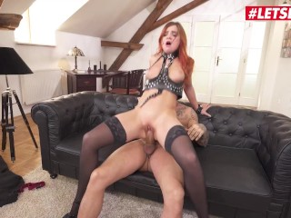 HerLimit - Renata Fox Russian Teen Gets Her Tight Ass Filled By A Thick Cock - LETSDOEIT