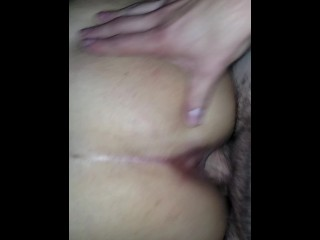 Fucking Mexican gf from behind