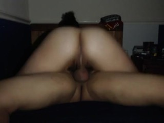 Reddit Asian bouncing her phat ass on dick