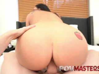 All Natural Babe Bala Dior Gets Big Cock In Her POV