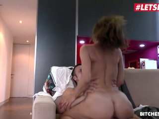 BitchesAbroad - Valentina Bianco Big Ass Italian Takes Foreign Cock In Her Tight Pussy - LETSDOEIT