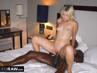 BLACKED RAW -  She couldn't even wait until they got to the hotel