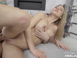 Enticing babe Tori Dakota begs for an anal creampie with Raul Costa by Just ANAL powered by Only3x