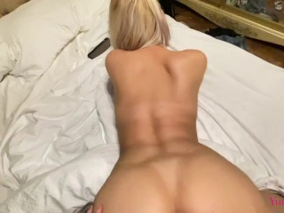 Fucking a wet pussy when not only we are at home