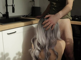 Horny Girlfirend Loves To Be Fucked From Behind-Ameteur Couple